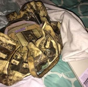 Jimmy Choo women's  handbag with matching wallet &